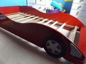 Race car Single Bed + Mattress