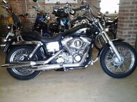 FANTASTIC HARLEY DAVIDSON FXDC SUPERGLIDE 1584 VERY LOW MILEAGE EXTRAS