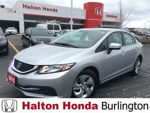 2015 Honda Civic Sedan LX | REARVIEW CAMERA | BLUETOOTH | HEATED