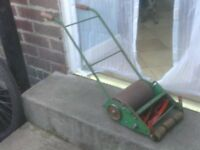 MINITURE WEBB PUSH MOWER £25
