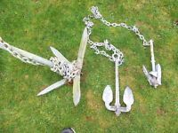 BOAT ANCHORS - FOR DINGHY OR DORY