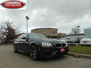 2014 BMW M5 TECH PKG-H.U.D-ONE OWNER 560HP!!
