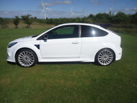 2010 FORD FOCUS RS WHITE LUX 1