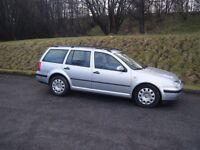 2001 VW GOLF SPORT 1.9 TDI ESTATE LONG MOT FSH TOWBAR SMOOTH NICE EXAMPLE NO OFFERS