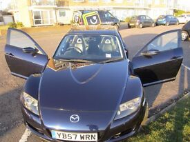 Mazda RX8 231 2008 Excellent condition, low mileage