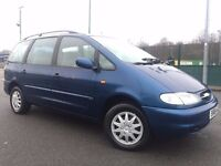 1998 (S) FORD GALAXY 2.3 GLX - 5 Dr- Petrol - Manual - BLUE *7 SEATER / 9 MONTHS MOT / LOW MILEAGE *