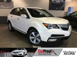 2012 Acura MDX Tech pkg with AWD, V6, navigation, rearview cam,