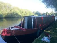 50ft Narrowboat Canal Boat for Sale, London
