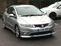 2009 HONDA CIVIC TYPE R GT 2.0i VTEC LOW MILES LADY OWNER CLEAN INSIDE AND OUT CHEAPEST AROUND S3