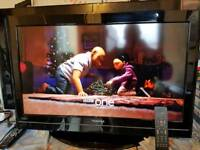 32 inch Toshiba hd tv with remote