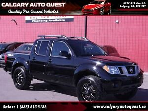2013 Nissan Frontier PRO-4X/LIFTED/4X4/NAVI/B.CAM/LEATHER/ROOF