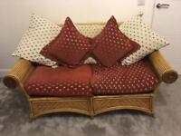 Cane conservatory sofas and chairs