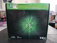 """CiT 3.5"""" usb 2.0 external HDD enclosure"""