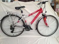 Carrera Crossfire 1000 ladies bike in excellent condition. Serviced and cleaned
