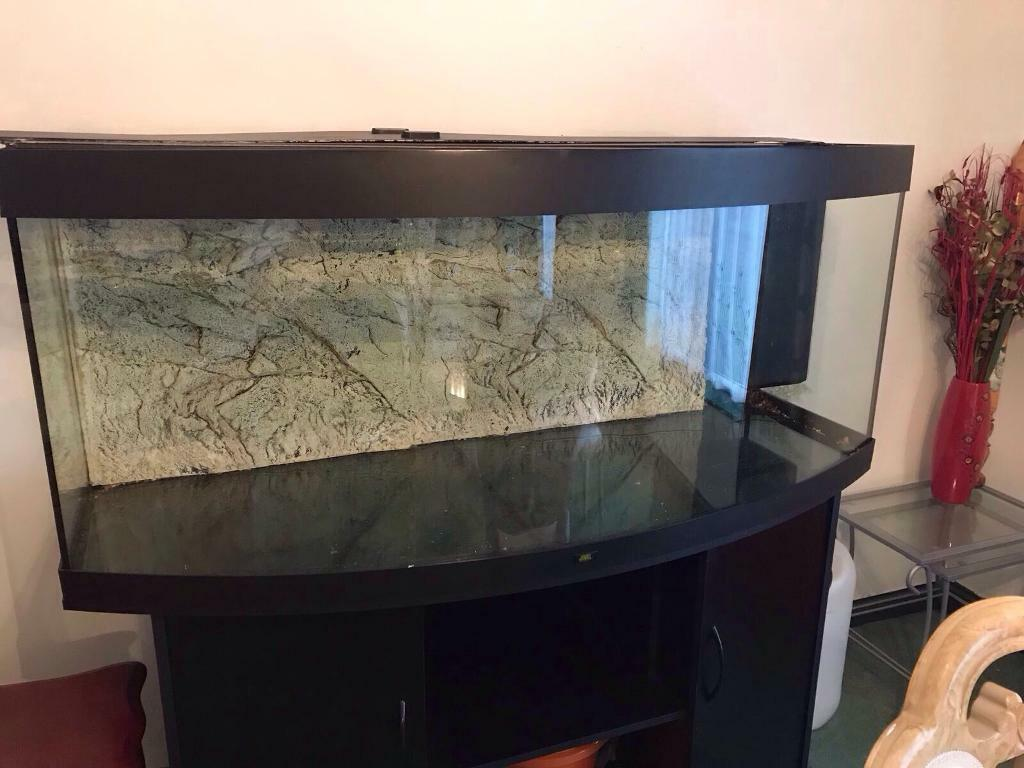 juwel vision 450 led aquarium and cabinet in black in leicester leicestershire gumtree. Black Bedroom Furniture Sets. Home Design Ideas