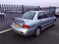 2005 Mitsubishi Lancer 1,6 litre 5dr 2 owners