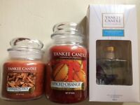 Yankee Candles and Reed Diffuser