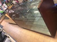 Glass cabinets 5ft