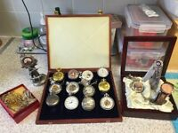 Assorted collection of pocket watches