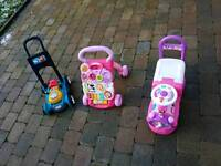 Variety of childs walkers