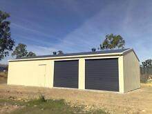DOUBLE GARAGE + DOUBLE WORKSHOP 12X7X2.4  SHEDS GARAGES GYMPIE Gympie Gympie Area Preview