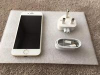 IPHONE 6 GOLD 16gb, ON 02, GIFF GAFF & TESCO NETWORKS, IN EXCELLENT CONDITION, MAY SWAP