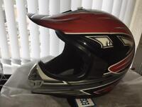 Motocross helmet new in box xxl