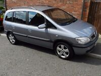 2004 VAUXHALL ZAFIRA ENERGY 2.0 DTI 7 SEATER WITH TOW BAR