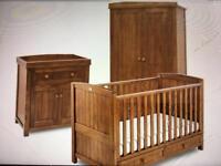 Silver cross nursery furniture set plus loads of extras!!