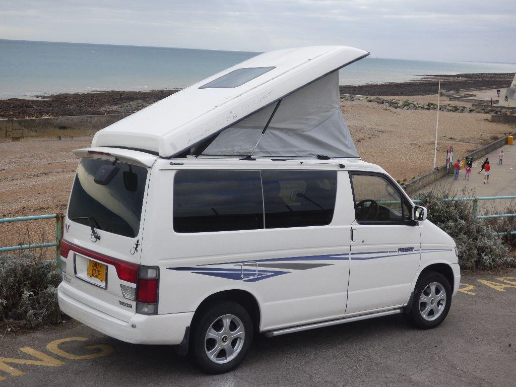 8ddcf475ec Mazda Bongo Friendee Autofree Top 8 seater 4 berth campervan -1998