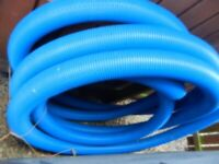 Polypipe drainage pipe.