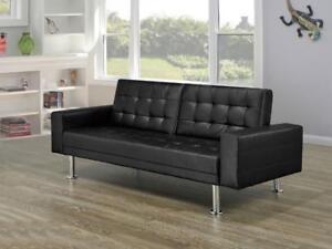 Black Upholestry Sofa Bed (BD-1657)