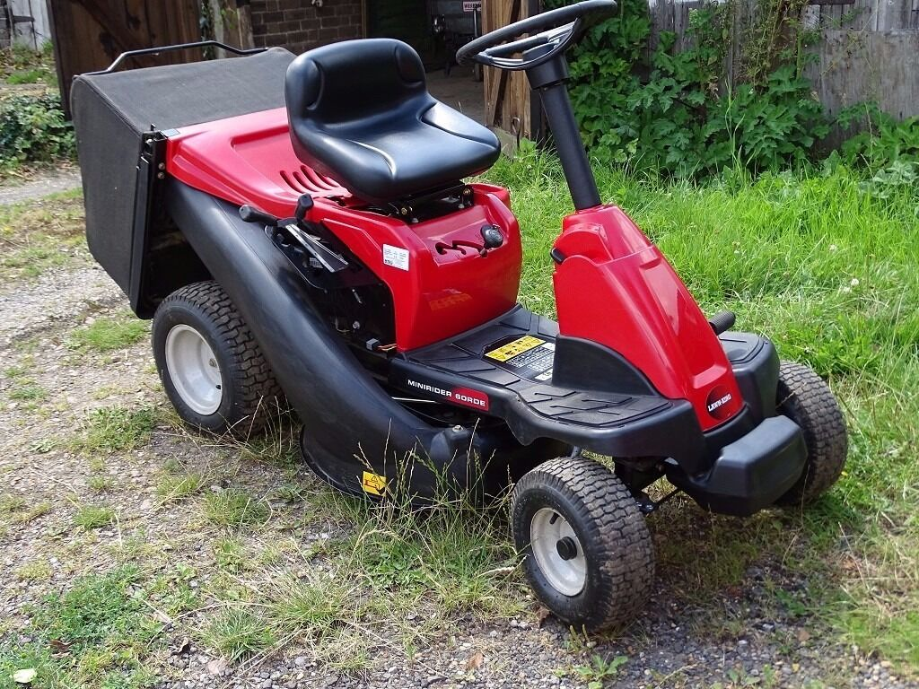 how to use ride on mower