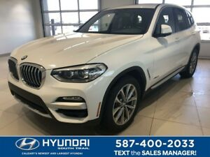 2018 BMW X3 xDrive30i SPORT - NAV, LEATHER, SUNROOF