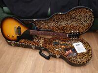 Gibson Les Paul Junior Billie Joe Armstrong Sunburst 2010 OHSC UK Shipping