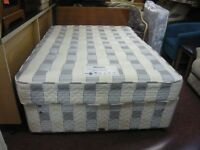 myers 3/4 bed with mattress and draws