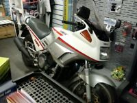 FJ1200 YAMAHA WITH PANNIERS. VGC MANY NEW PARTS.1 YEARS MOT. JUST SERVICED.