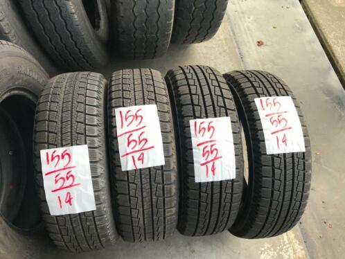 4x Hankook Winter 155-55-14 Winterbanden 9mm