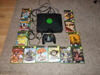 original xbox + games