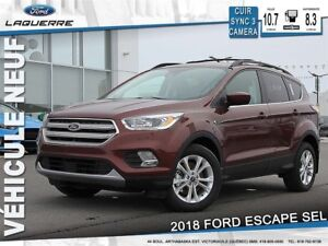 2018 Ford Escape SEL*Cuir* LF
