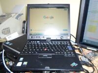 IBM / Lenovo ThinkPad X60 Tablet - Centrino Duo 2.5 GB RAM 120 GB HDD