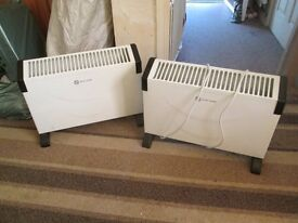for sale 2 convector heaters