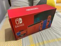 New Nintendo switch mario edition with case all boxed !