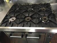 Old 6 burn cooker