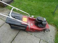 Mountfield express 16inch petrol lawnmower