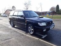 Subaru Forester S Turbo 2001 AWD 175HP (All weather package) manual with towbar