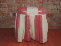 Quality heavy duty stool for dressing table (Delivery)