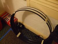 two 20 inch bass drum hoops