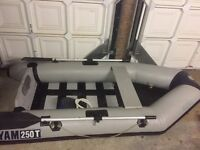 Yamaha Inflatable Dinghy with mercury outboard