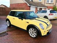 Mini Cooper S 1.6, 2003, Stunning Rare Yellow